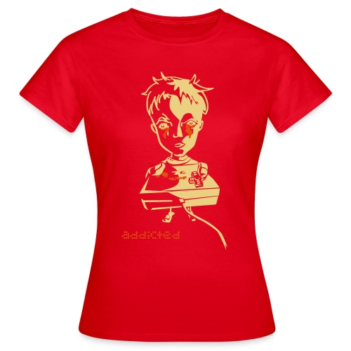 Nintendo Addicted - Frauen T-Shirt