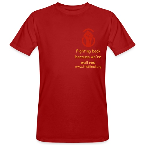 Fighting Back tee - Men's Organic T-Shirt