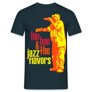 Hip hop jazz flavors orange - T-shirt Homme