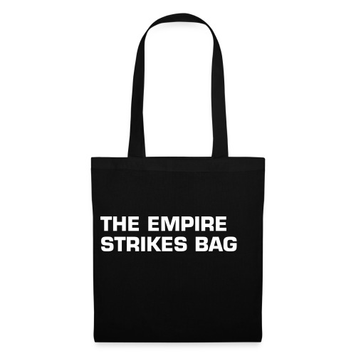THE EMPIRE STRIKES BAG - Stoffbeutel