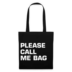 PLEASE CALL ME BAG - Stoffbeutel