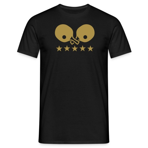 Table Tennis T-Shirt w/ Gold Glitter - Men's T-Shirt