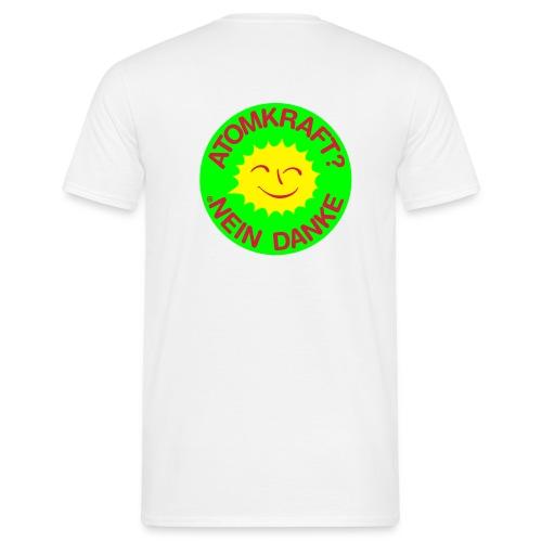 Atomkraft? Nein, Danke! - Männer T-Shirt