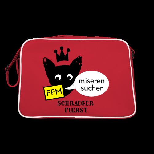 retrotasche, FFM, miserensucher - Retro Tasche