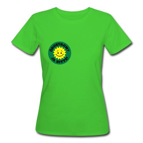 Ökostrom? Ja Bitte - Frauen Bio-T-Shirt