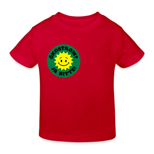 Ökostrom? Ja Bitte - Kinder Bio-T-Shirt