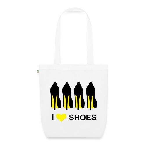 I love shoes - Bio-Stoffbeutel