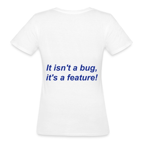 not but shirt - T-shirt ecologica da donna