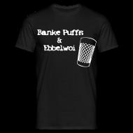 T-Shirts ~ Männer T-Shirt ~ Banke Puffs un Ebbelwoi