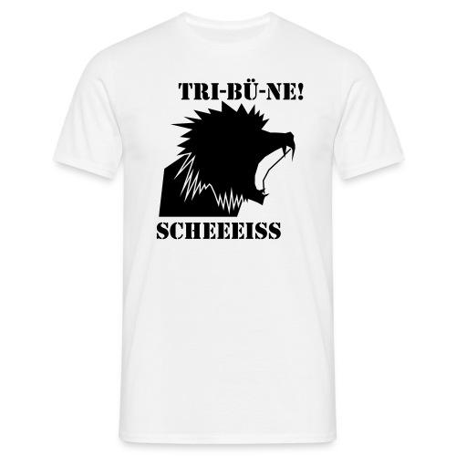 Scheiß Tribüne - Männer T-Shirt