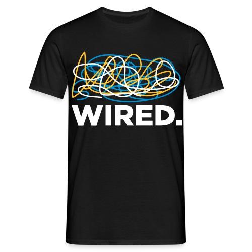 G&OC Wired T-Shirt Fronte e Retro - Maglietta da uomo