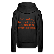 Hoodies & Sweatshirts ~ Women's Premium Hoodie ~ Women's #legendofklang - Suit of Threads