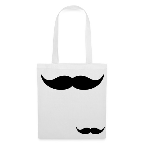 moustache tote bag - Tote Bag