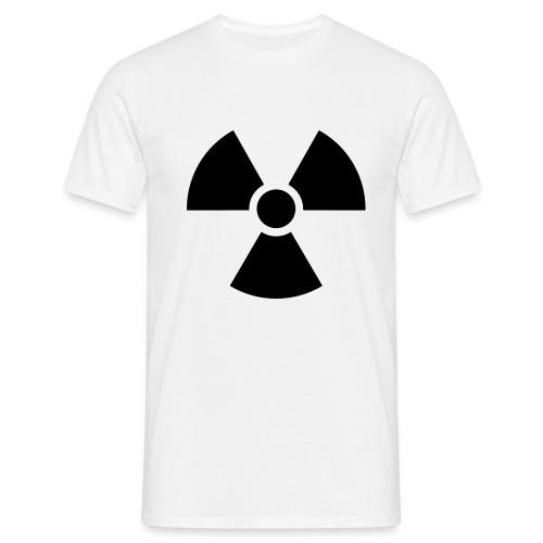 Männer T-Shirt - t-shirts bedrucken,coole Motive,Atomkraft nein Danke T-Shirt