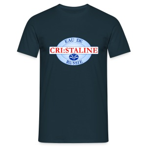 Cri:Staline Bleu Marine - T-shirt Homme