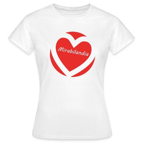Love Mirabilandia 2011 - Donna - Maglietta da donna
