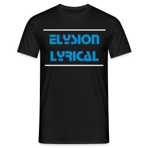 Elysion Lyrical Homme (Bleu / Blanc) - T-shirt Homme
