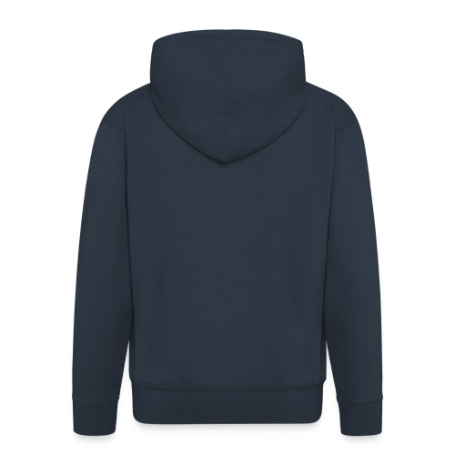 Herren Zipper Hoody - Männer Premium Kapuzenjacke