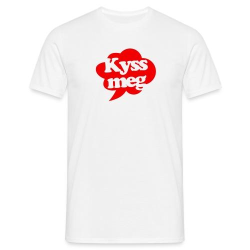 Kyss meg! - T-skjorte for menn