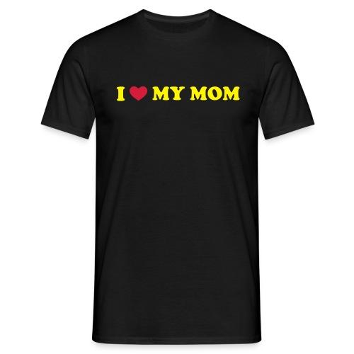 <3 My Mom T-Shirt - Men's T-Shirt