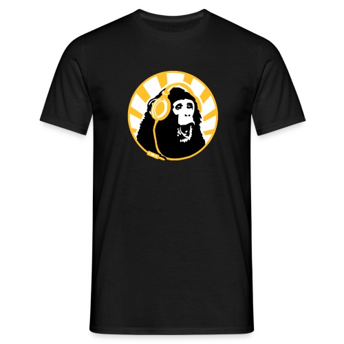 Monkey DJ T-Shirt - Men's T-Shirt