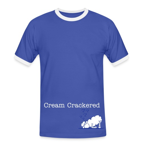 Cream Cracker-ed 2  - Men's Ringer Shirt