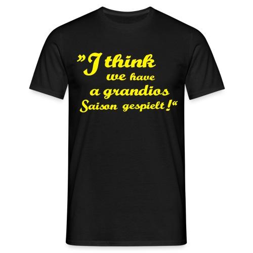 I think its a Männer T-Shirt - Männer T-Shirt