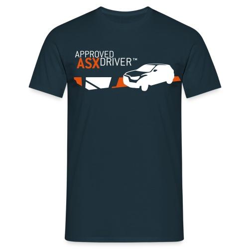 approved asx driver shirt - Männer T-Shirt