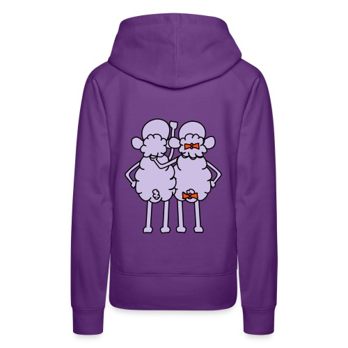 sheep friend - Premium hettegenser for kvinner
