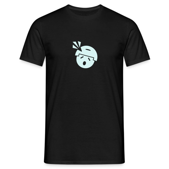 """Männer T-Shirt klassisch, Headshot Noob """"M.A.G."""" in reflektierender Farbe"""