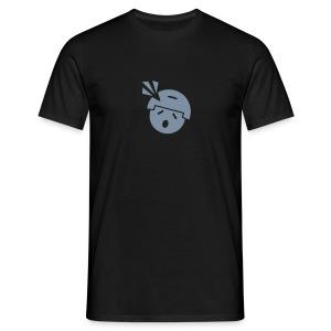 Männer T-Shirt klassisch, Headshot Noob M.A.G. in Silber-Matt - Männer T-Shirt