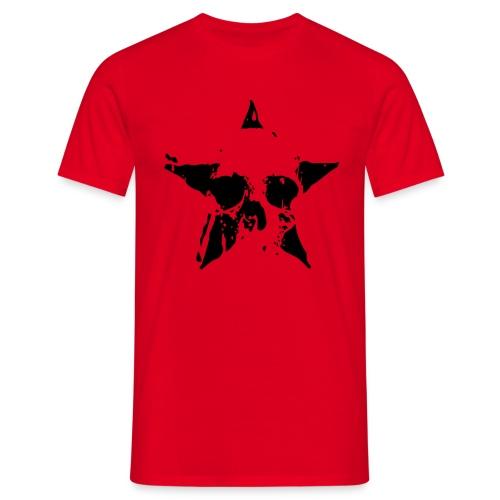 Teschio_stella - Maglietta da uomo