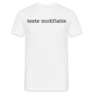 t-shirt modifiable - T-shirt Homme