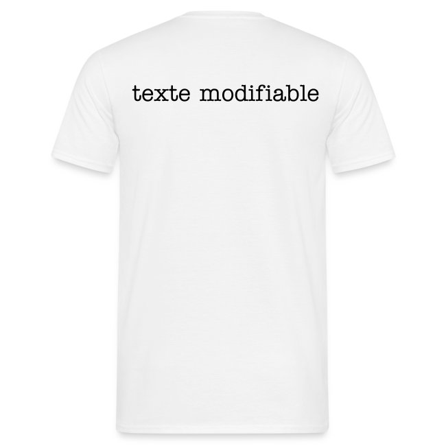 t-shirt modifiable