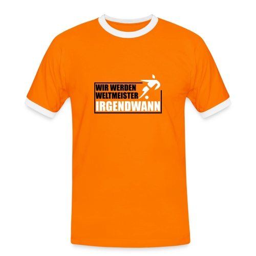 WM Holland Shirt - Männer Kontrast-T-Shirt