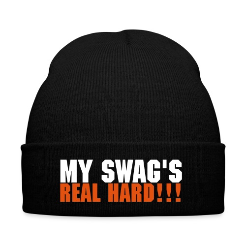 My Swag's real hard hat white and orange - Winter Hat