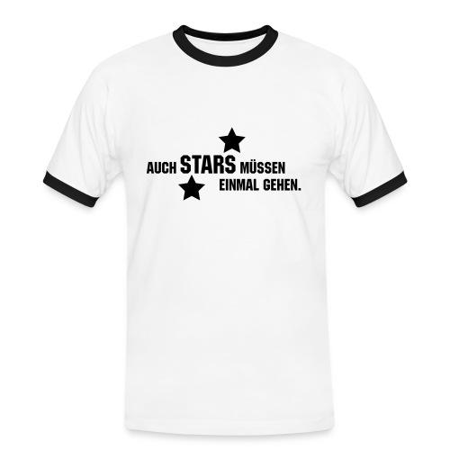 Stars Shirt - Männer Kontrast-T-Shirt