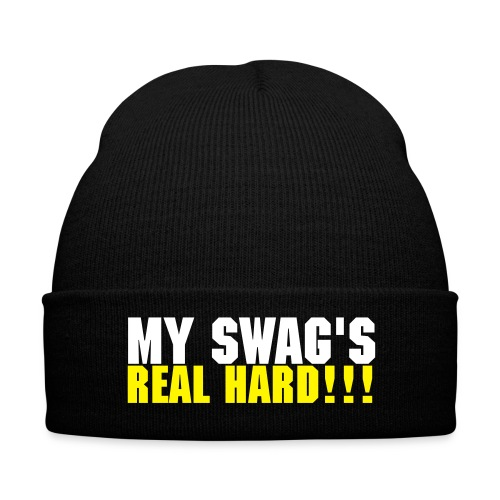 My Swag's real hard hat white and yellow - Winter Hat