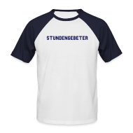 T-Shirts ~ Männer Baseball-T-Shirt ~ Stundengebeter