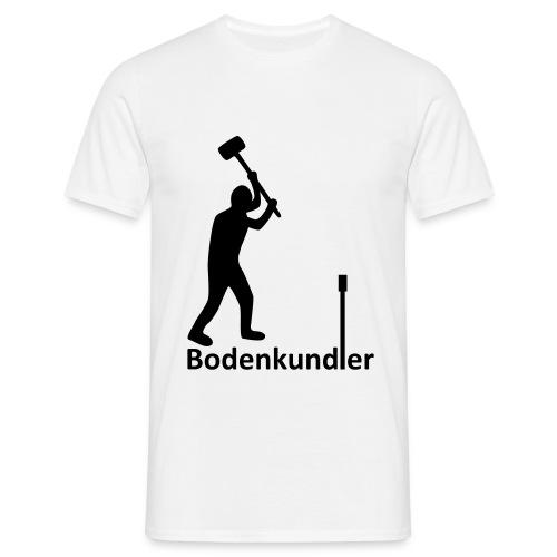 T-Shirt Bodenkundler, Pürckhauer, front, black - Männer T-Shirt