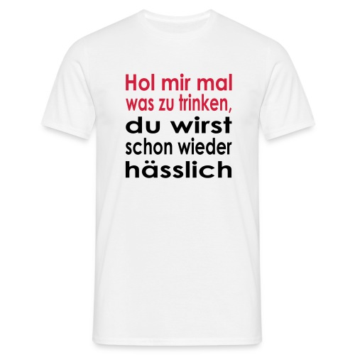 hol mir mal_white_men - Men's T-Shirt