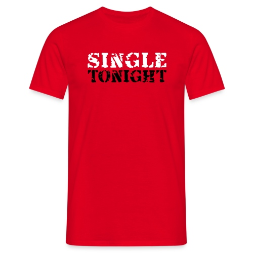 single_red_men - Men's T-Shirt