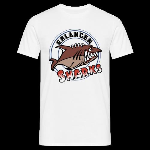 Erlangen Sharks Color T-Shirt (m, weiß) - Männer T-Shirt