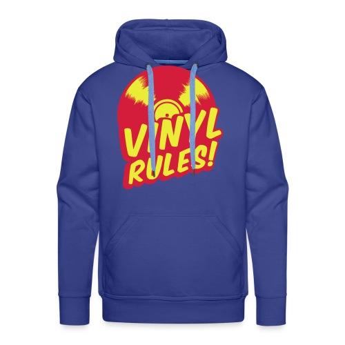 Vinyl Sweat - Sweat-shirt à capuche Premium pour hommes