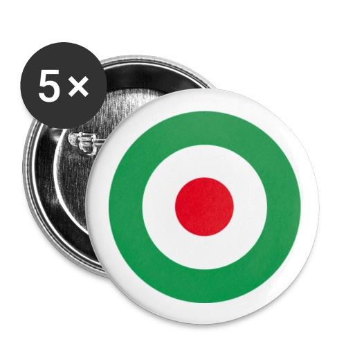 Spilla Tricolore - Spilla piccola 25 mm