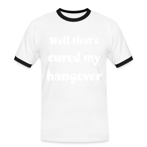 Hangover Cure - Red - Men's Ringer Shirt