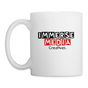 Immerse creative support, immerse media - mug - Mug