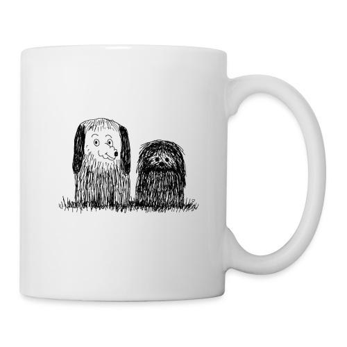 mug chiens - Mug blanc
