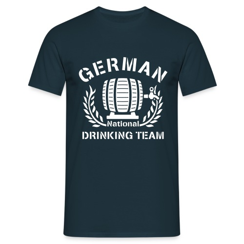 German Drinking Team (Grillen Shirt) - Männer T-Shirt