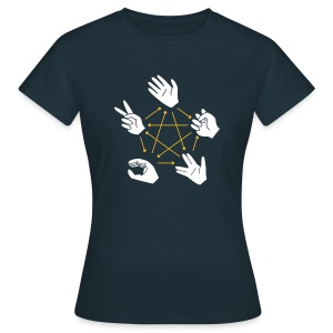 Rock-Paper-Scissors-Lizard-Spock - Women's T-Shirt